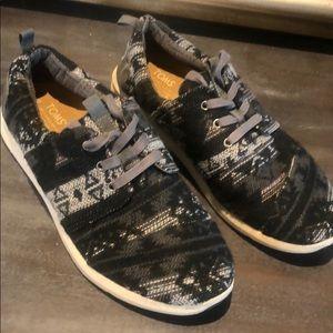 TOMS tribal woven Delrey sneakers